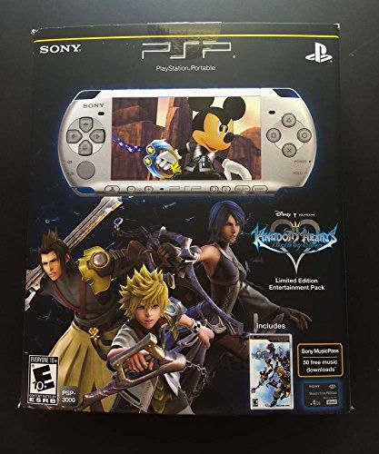PSP 3000 Limited Edition Kingdom Hearts Birth by Sleep Entertainment Pack  Mystic Silver *** See this great product.