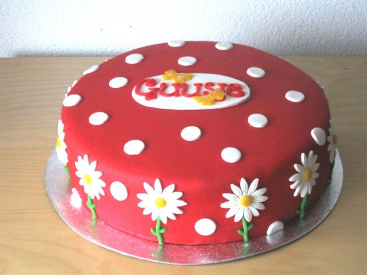 Stippeltaart - Polka dot and Daisies