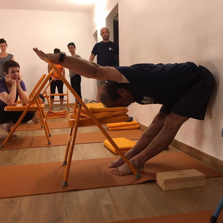 307 best iyengar yoga chair images on pinterest chairs for Chaise yoga iyengar