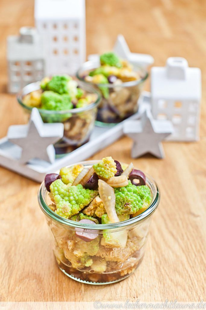 Romanesco-Fenchel-Salat {weihnachtsmenü 2016}
