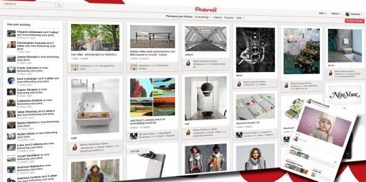DIGITAL SCRAPBOOK: Pinterest er som en digital utklippsbok du deler med tusenvis av andre - basert på interesser og temaer.