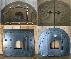 Hinged Pizza Oven Doors
