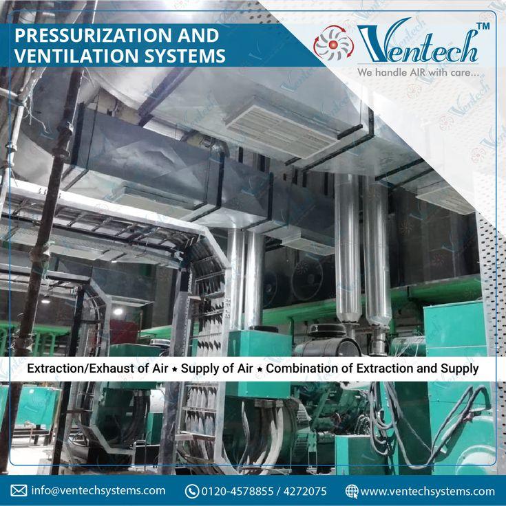 Pressurization and Ventilation Systems Air ventilation