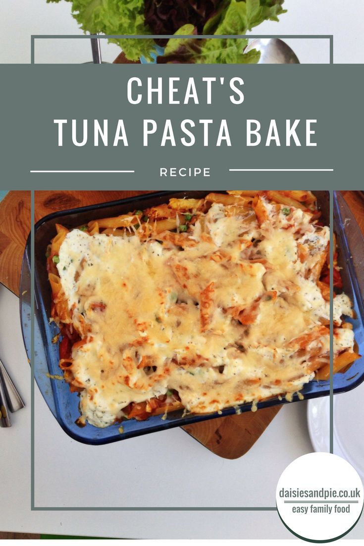 ... Tuna Pasta Bake on Pinterest | Tuna quiche, Toddler dinners and Tuna