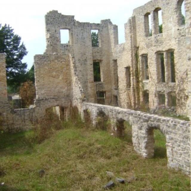 The Old Burned Down Castle Ha Ha Tonka State Park Camden