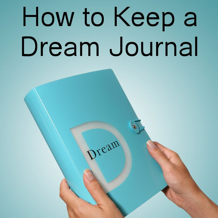 How to Keep a Dream Journal... GREAT tips from the Dr Oz TV Show!