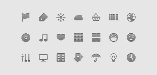 14 Free Mobile Application Development Icon Sets
