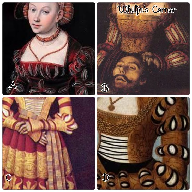 Different Ways to Slash your 16th century German outfit