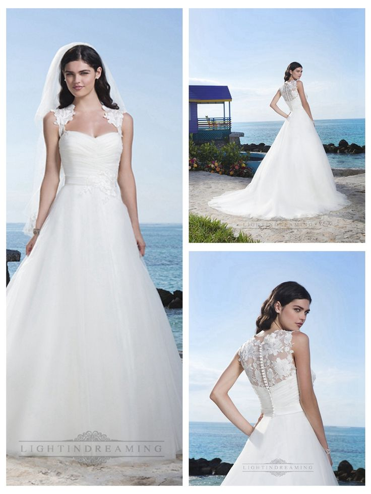 Queen Anne Neckline And V-Ruched Bodice Accented By A Satin Waistband Tulle Ball Gown http://www.ckdress.com/queen-anne-neckline-and-vruched-bodice-accented-by-a-satin-waistband-tulle-ball-gown-p-326.html  #wedding #dresses #dress #lightindream #lightindreaming #wed #clothing #gown #weddingdresses #dressesonline #dressonline #bride