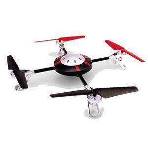 Quadricoptere 998-V2 Quadcopter 4 Canaux, 2,4 GHz Avec Caméra D'espionnage Avec La Dernière Technologie Gyroscope + Télécommande LCD…