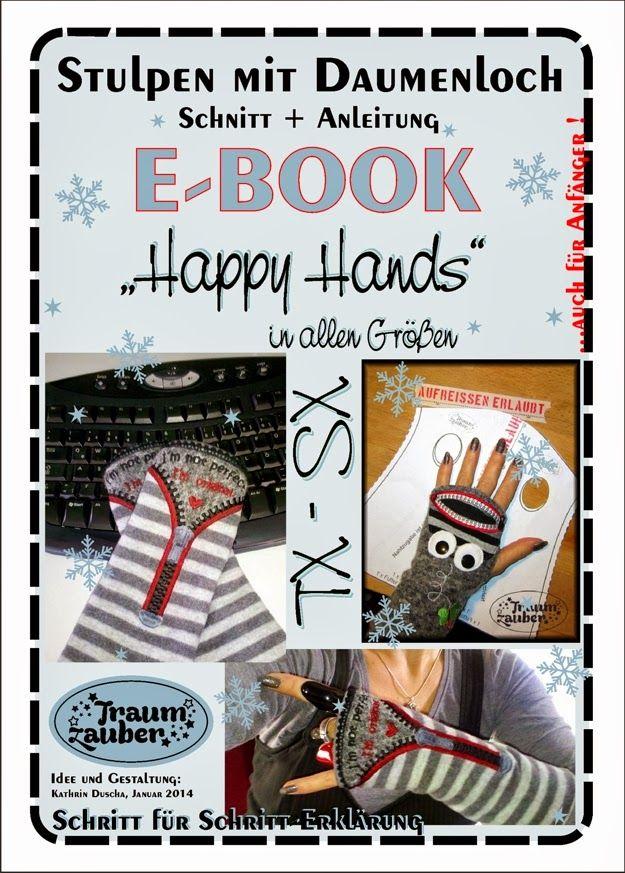 Happy Hands Armstulpen mit Daumenloch