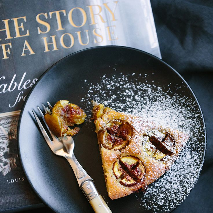 A Timeless Festive Dinner with The Food Fox - Fig Clafoutis - Poetry Stores