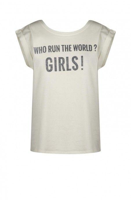 T-shirt manches courtes à message