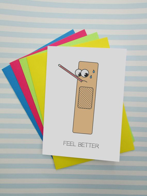 165 best cushobi greeting cards images on pinterest handmade funny feel better card silly get well soon card hospital card quirky cartoon get well card cute card for patient charity card m4hsunfo