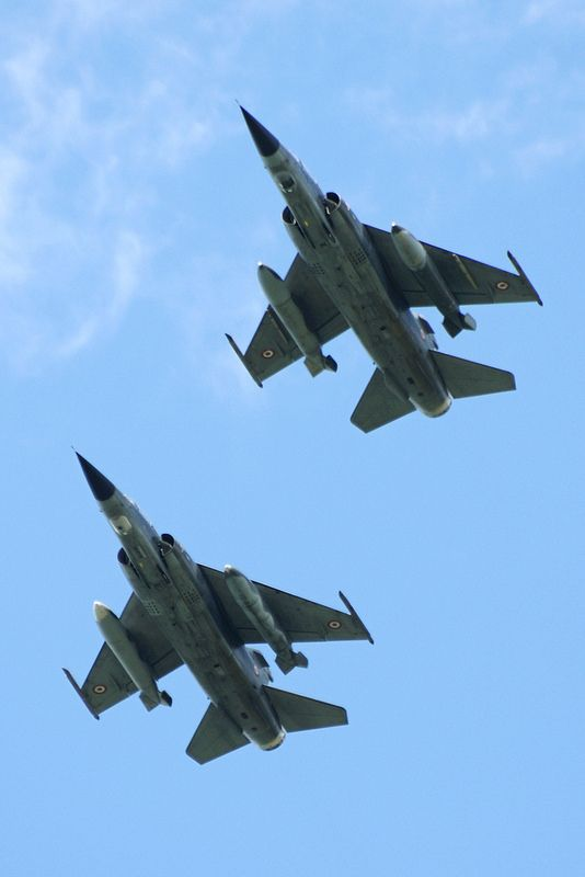 A brace of French AF Dassault Mirage F.1CR's 16/04/2014