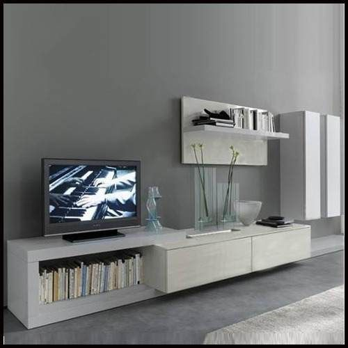 Modular Tv Lcd Rack Vajillero Exc. Calidad.modelo Sarja - $ 4.950,00