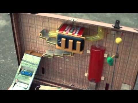Máquina de Rube Goldberg, portátil