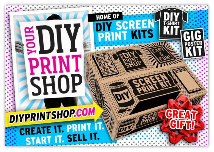 98 best diy kits screen printing images on pinterest arts and httpdiyprintshop music bandsscreen printershop hometotesdo it yourselfdiy kitsshirtsprintingfabrics solutioingenieria Images