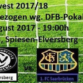 #Regionalliga #Suedwest 2017/18   3. #Spieltag (Vorgezogen)  03. #Spieltag (Vorgezogen #wegen #Teilnahme #am DFB-Pokal)  #SV 07 #Elversberg - 1. #FC #SAARBRUECKEN 97  #News  #FC #Saarbruecken / #Saarland | #Regionalliga #Suedwest 2017/18 - 3. #Spieltag (Vorgezogen) http://saar.city/?p=65731