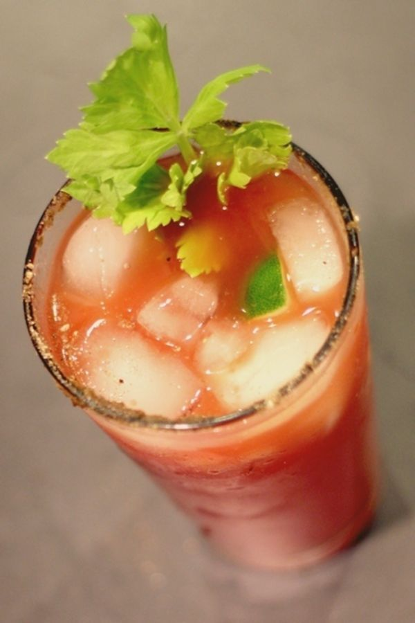 A Bloody Mary made with Clamato is Canada's unofficial official drink.