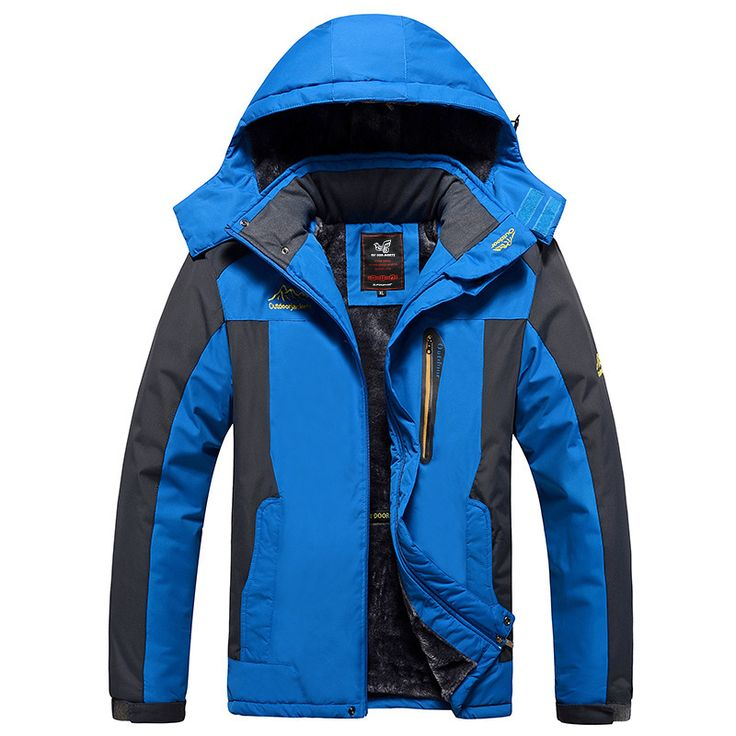 The new winter jacket Men Plus thick warm coat jacket men's casual hooded coat jacket size M-4XL5XL6XLUSD