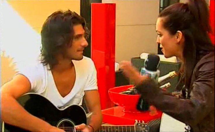 Entrevista a Hugo Salazar para TV, realizada por Melania Guijarro. Madrid. 2011.