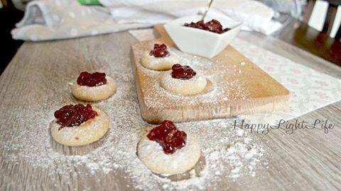 BISCOTTI OCCHIO DI BUE  #Glutenfree #biscotti #occhiodibue #biscottiglutenfree…