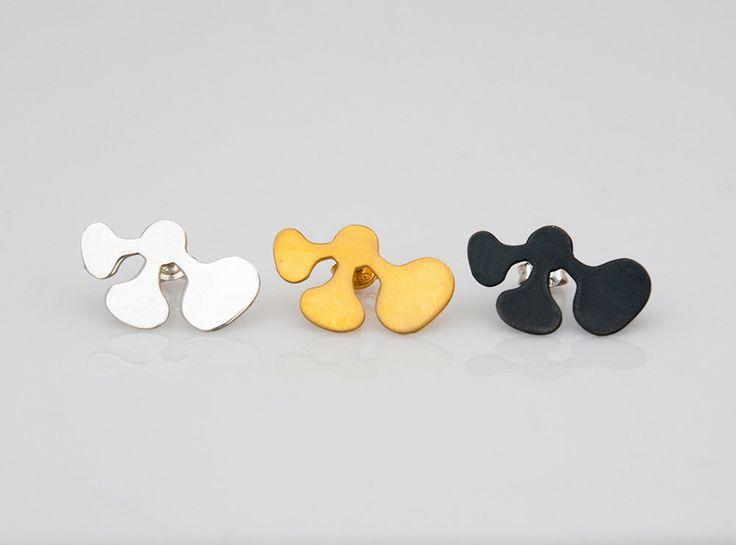 Elegant Silver Earrings, Minimal Earrings, Modern Jewelry, Melio Jewels by MelioJewels on Etsy https://www.etsy.com/listing/507211695/elegant-silver-earrings-minimal-earrings