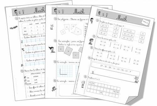 Exercices Cap Maths CE1: