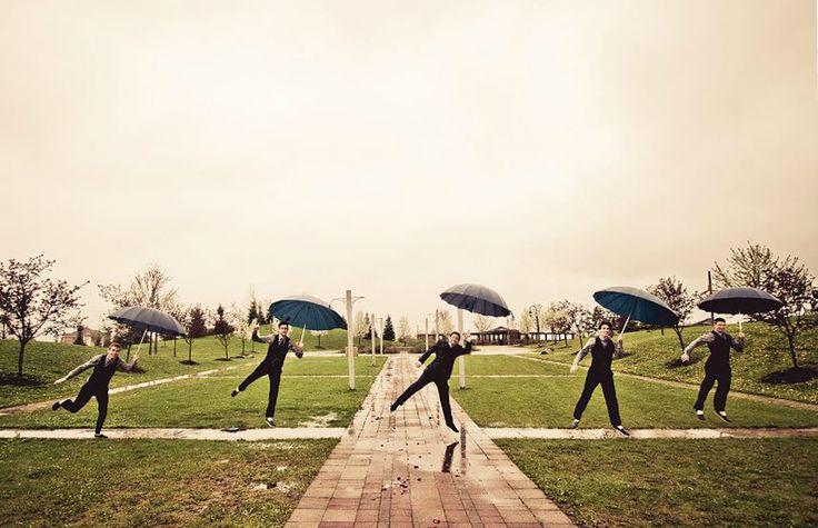 If it rains, I might be getting on a lamp post! I'm ssssiiiiiiiiiiinging in the rain...
