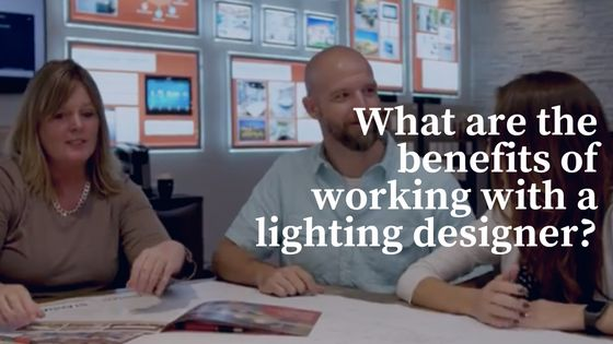Working with a lighting designer brings expertise to new home construction electrical plans. Lighting designers bring additional ROI to  home building project. #lightingdesign