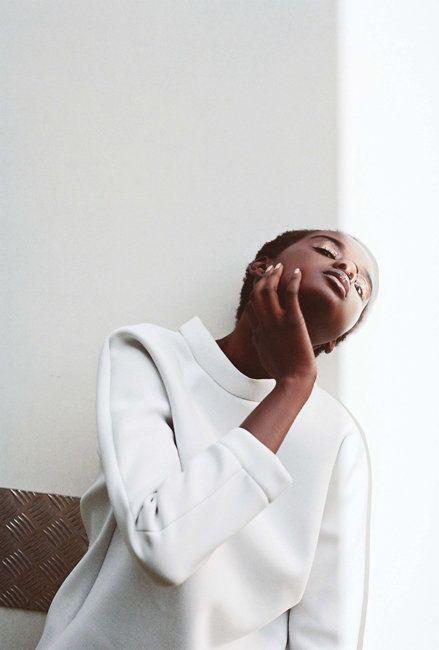 Duckie, Black Fashion Models, Oyster Magazine, Dakota Gordon
