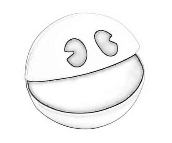 Fabulous Pac Man Maze Coloring Pages With Pac Man Coloring Pages: 17 Best Images About Video Game Theme On Pinterest