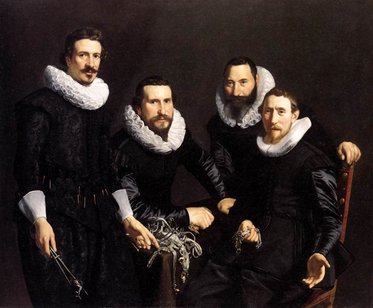 The Syndics of the Amsterdam Goldsmiths Guild; Artist:Thomas de Keyser, Dutch, 1596/97-1667; Date:1627; Currently in the collection of the Toledo Museum of Art.