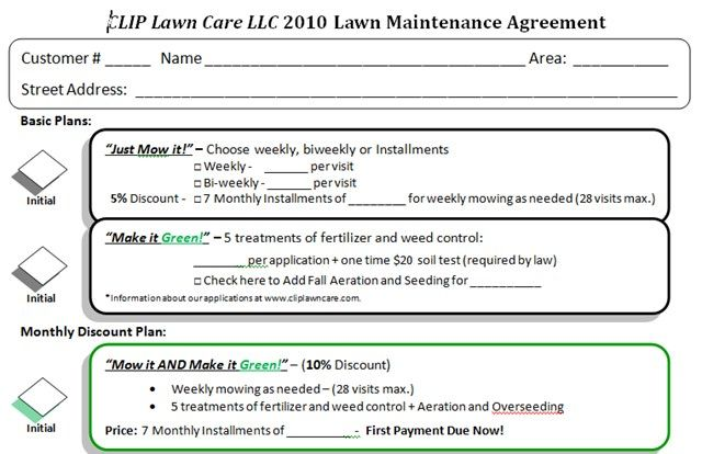 Pin by (413) 544-0211 on mowing contract ideas Pinterest