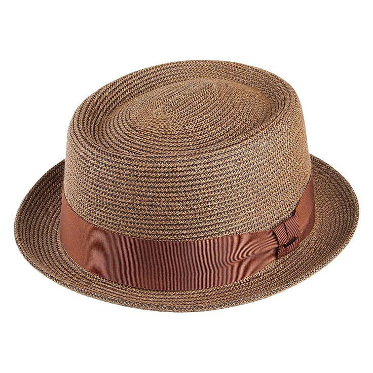 Bailey Hats Waits Pork Pie Hat - Copper