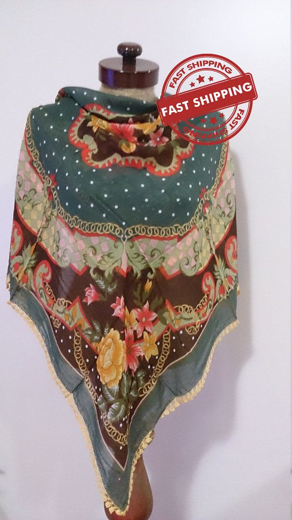 Traditional Turkish Scarf mother christmas gift by AtlasScarf