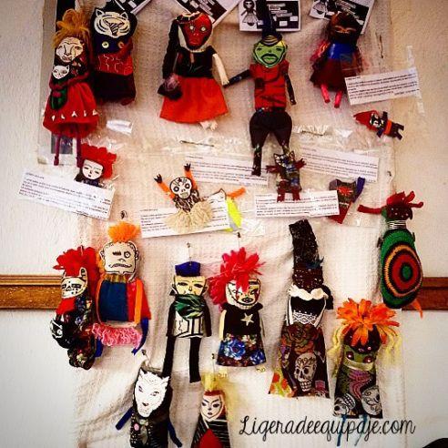 Las muñecas de tela de Las Cabras Comen Flores :)