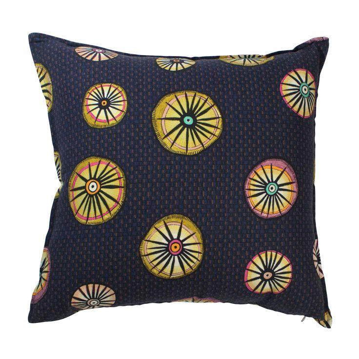 Amasumpa linen cushion in Moonlight