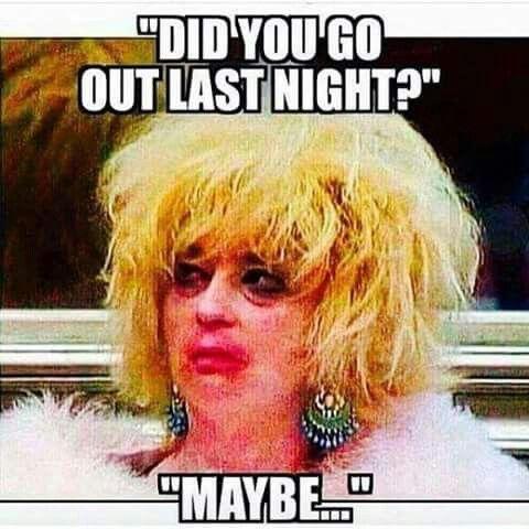 Funny meme. Adult humor. Hangover