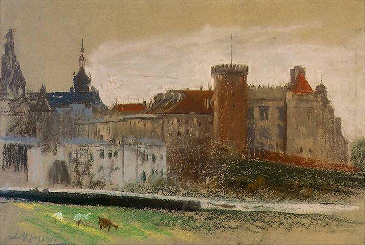 Leon Wyczółkowski. Widok Krakowa