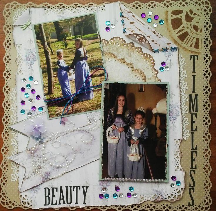 Timeless Beauty - Scrapbook.com