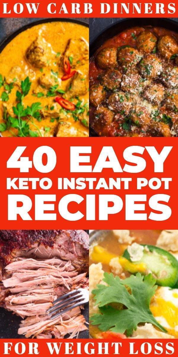 instapot recipes for low carb diet
