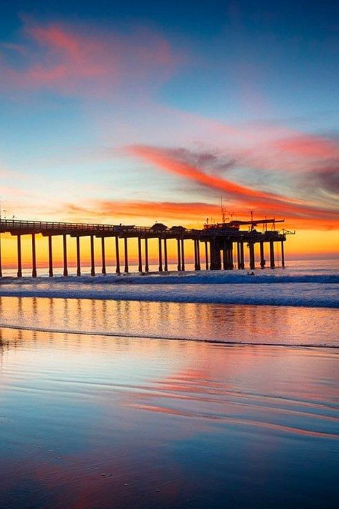 San Diego sunset // 22 Reasons Living In San Diego Ruins You For Life