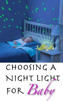 How to choose a night light for the nursery