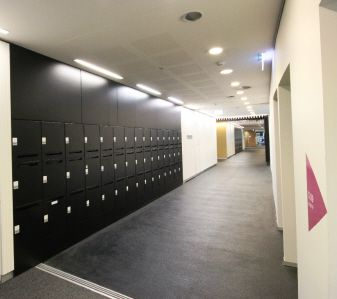 Activelocker #interiors #commercial #lockers #design #architecture #black #storage