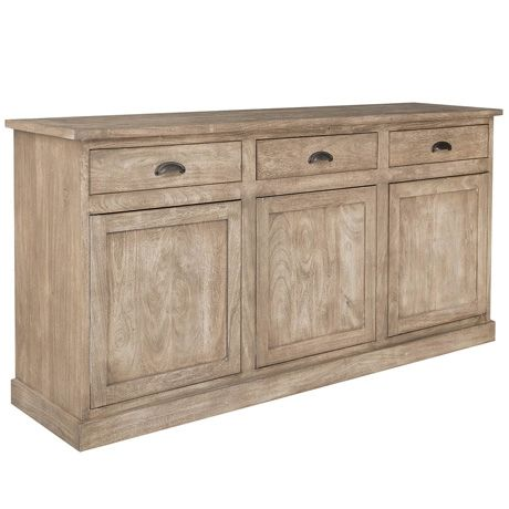 Estate 3 Door/3 Drawer Buffet  Natural