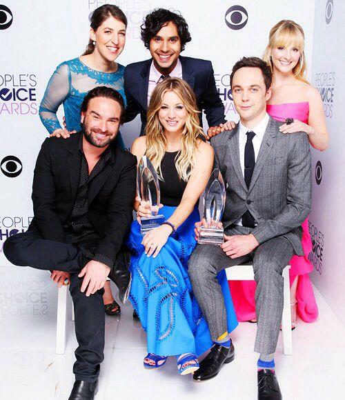 The Big Bang theory cast (minus simon)