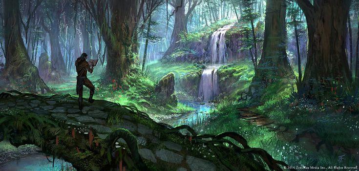 Bosmer Jungle from The Elder Scrolls Online