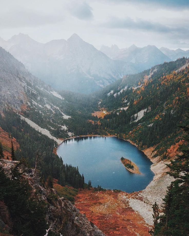 North Cascades National Park, near Chelan County, Washington, USA